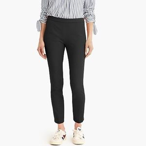 Petite Martie slim crop pant with side zip